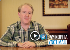 YNOT Mail Testimonial Video