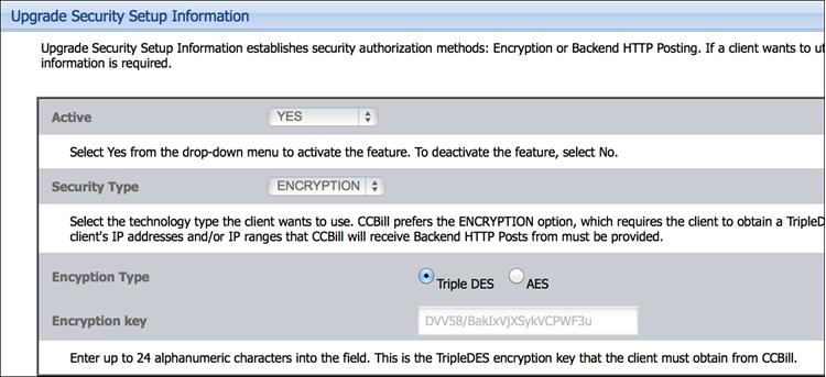 Create an encryption key.