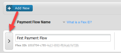View payment flows
