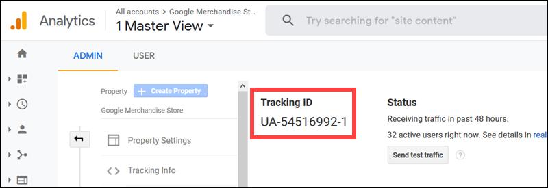 Unique Tracking Id Location Analytics