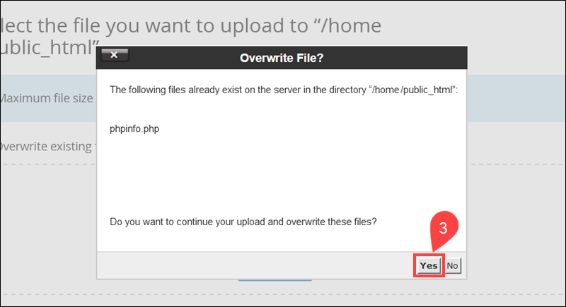 Overwrite a corrupt PHP file in WordPress.
