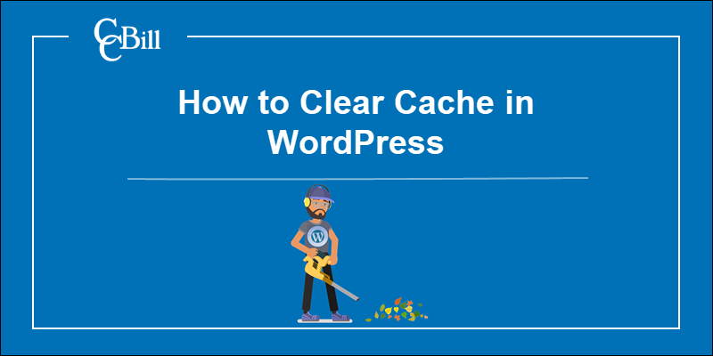 Clearing the Cache of a WordPress website.