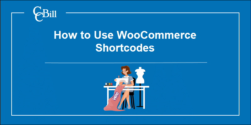 Merchant desining pattern with WooCommerce logo.