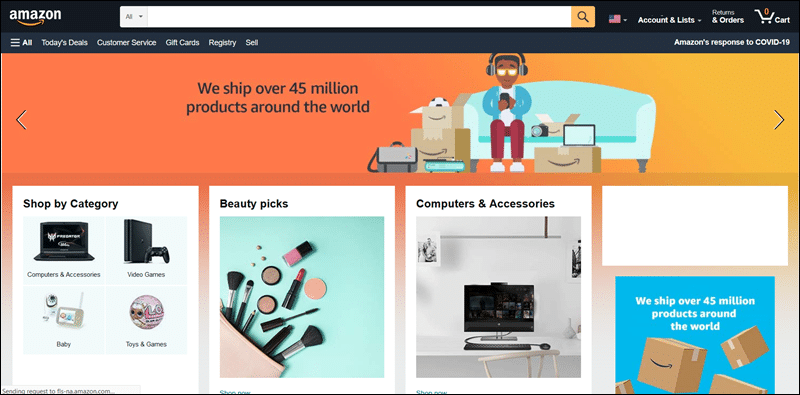 Amazon uses a headless model to create new sales touchpoints.