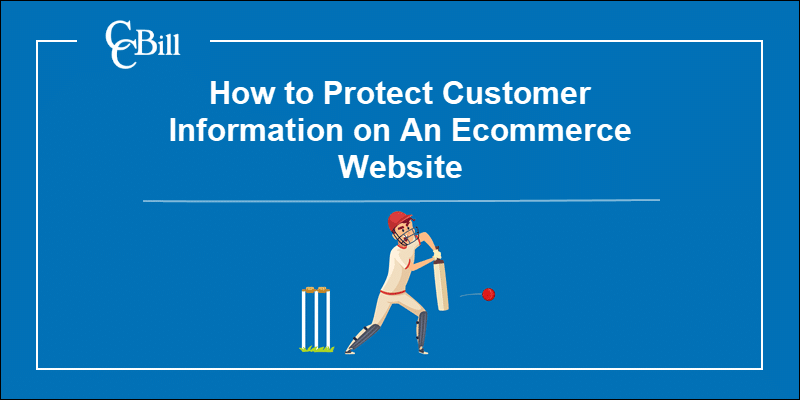 Merchant using best practices to protect customer data.