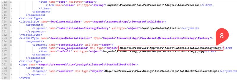 Di.xml symlink edited in Magento 2.