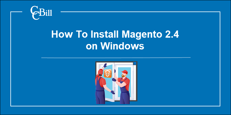 Workers installing Magento on windows.