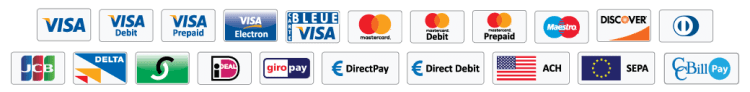 Shopping Cart Payment Methods