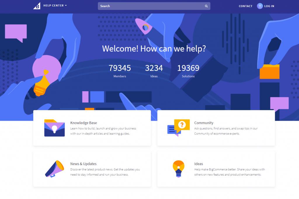 Bigcommerce Support Ecommerce Platform