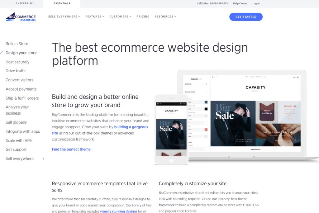 Bigcommerce Design Ecommerce Platform