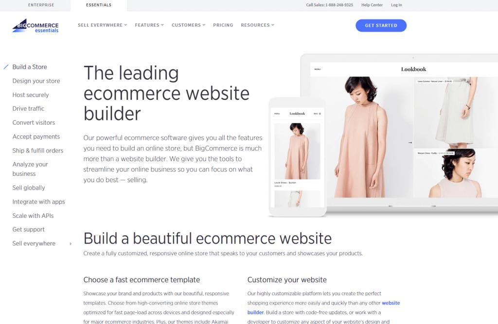 Bigcommerce Feautres Ecommerce Platform