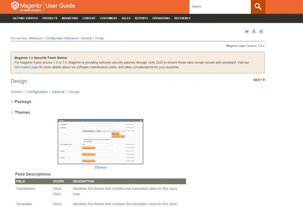 Magento Design Ecommerce Platform