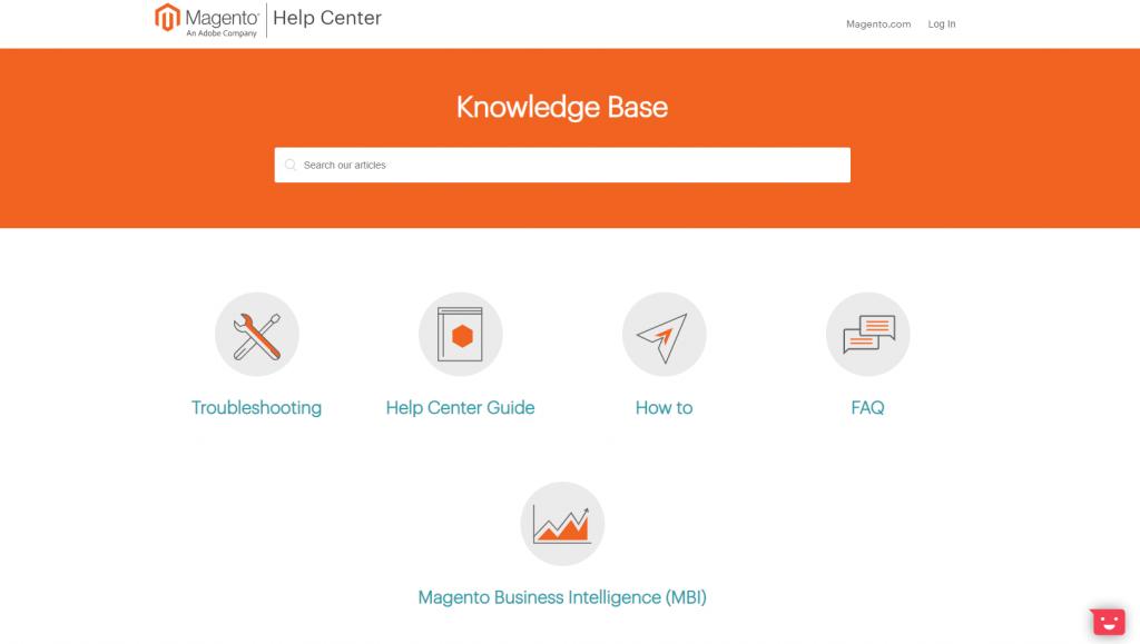 Magento Support Ecommerce Platform