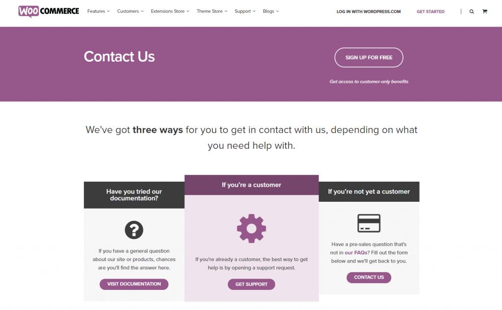 Woocommerce Support Ecommerce Platform