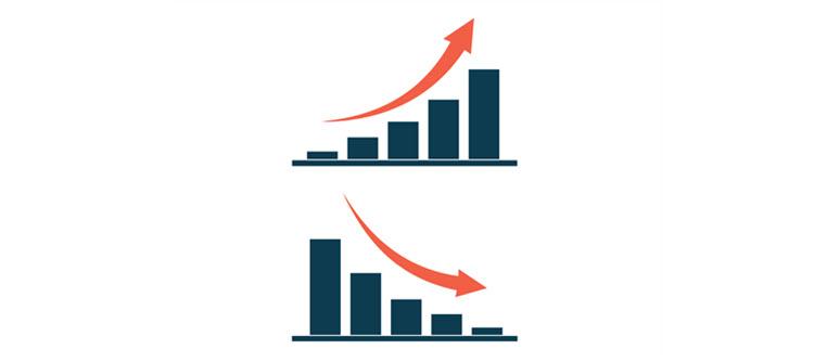Brick and mortar vs. online sales statistics