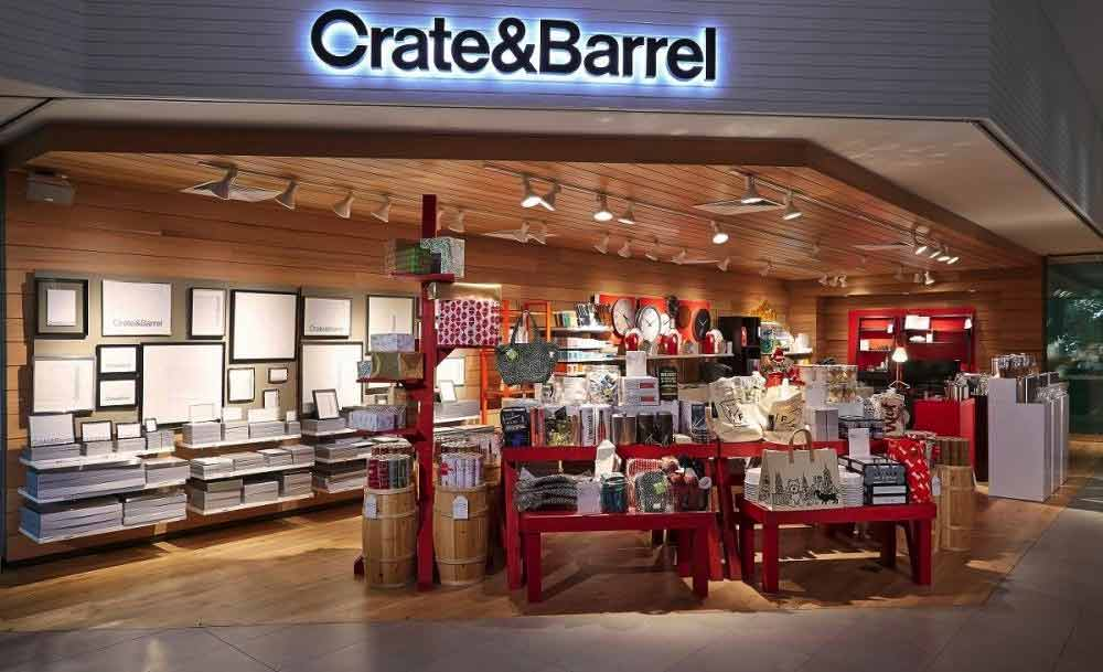 Crate and Barrel Omni Channel Examples