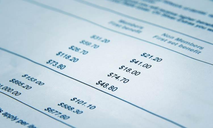 Determine Processing Fees