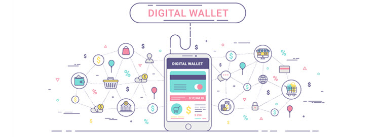 e-wallet a popular online payment method.