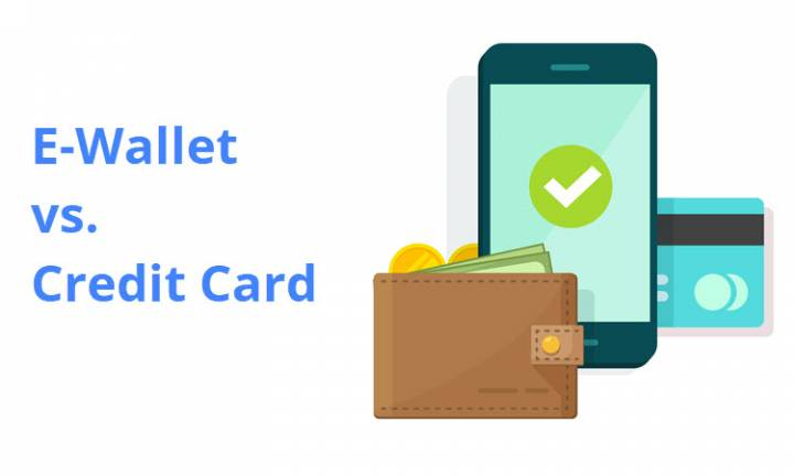 E-Wallet vs. Credit Card: What's the Difference?