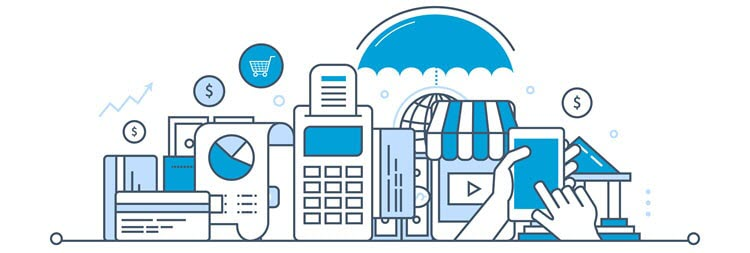 Preferred online payment methods for online shoppers.
