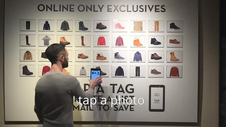 Timberland Omni Channel Examples